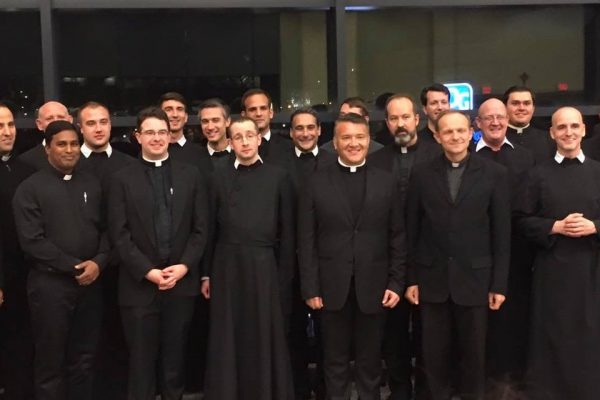 Meeting of Oratorian Fathers in Pittsburgh from various Houses.